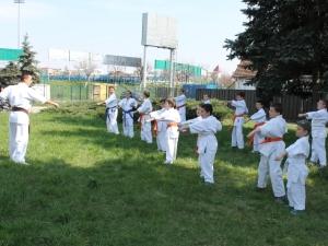 Antrenament in parc