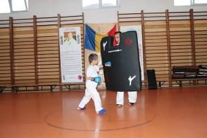 antrenamente sala karate tg jiu