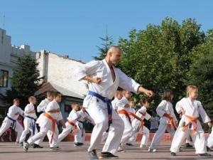 Demonstratie karate Targu Jiu
