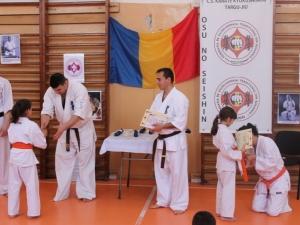 Examen de grad karate kyokushin tg jiu