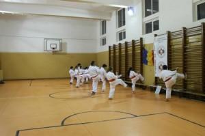antrenament sala karate targu jiu