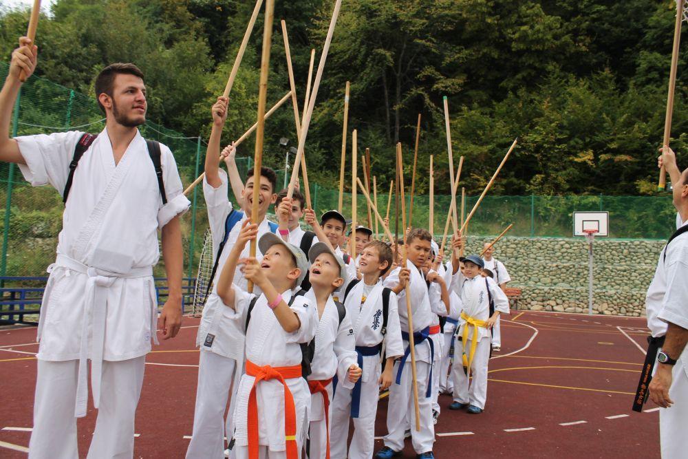Antrenament si drumetie in Tabara de vara, Sacelu